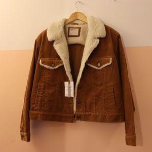 ASOS Sherpa-lined Corduroy Jacket